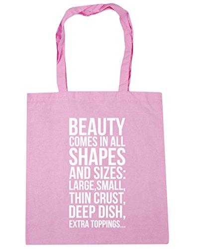 Pink Strandtasche Hippowarehouse Hippowarehouse Damen Damen Classic nq6Y8n4wR