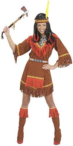 Widmann 71811 - Costume da Donna Indiana, in Taglia S