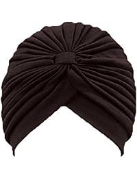 Classique turban pour femme. Confortable à porter il est idéal pour la perte de cheveux. MK5016