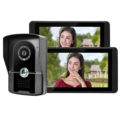 Hakeeta Timbre Video Prueba Agua Doble Pantalla LCD
