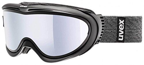Adulti Uvex Comanche Take Off Pola occhiali da sci, black mat, taglia unica
