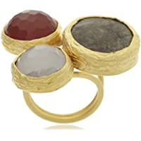 Bansri Enamel Ring for Women (Multi-Color) (R203 MLT)