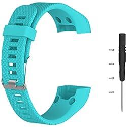 Pulsera para Garmin Vivosmart HR Plus,Meiruo Correa de Repuesto para Garmin Vivosmart HR+ (Colour 2)