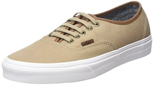 Vans Authentic, Baskets Basses Mixte Adulte Beige (C&L silver mink/true white)
