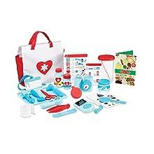 Melissa & Doug Get Well Doctor's Kit Play Set | Pretend Play | Play Set | 3+ | Gift for Boy or Girl