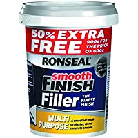 Ronseal Smooth Finish Filler Multi-Purpose Ready Mixed 900g