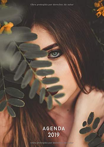 Agenda 2019: Agenda Semanal | Tamaño Bolso A5 | 12 Meses Enero a Diciembre 2019 | Diseño Paradise Botanical | Chica de moda | español (Tendencias 2019) por Papeterie Collectif