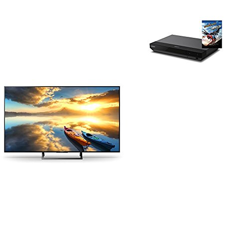 "Amazon Sony KD-43XE7004 - Televisor de 43"" UHD HDR (Motionflow XR, 100Hz, X-Reality PRO 4K, Wifi, YouTube, Netflix, USB HDD Rec, DSEE, S-Force Front Surround, gestión de cables) negro + Sony UBPX70"