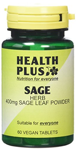 Health Plus Sage 400mg Women's Health Plant Supplement – 60 Tablets