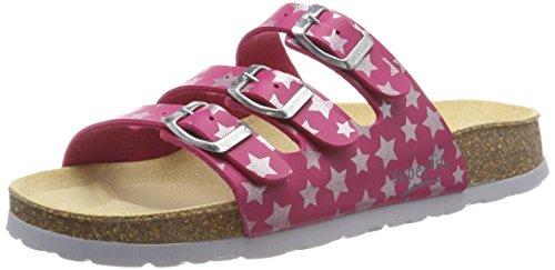 Superfit Mädchen Fussbettpantoffel Pantoffeln, Pink (Rosa 56), 35 EU