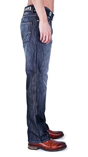 Zico Jean pour homme Bleu - Dark Wash