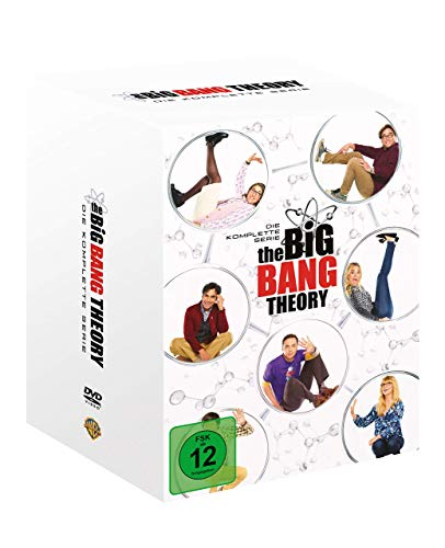Cover The Big Bang Theory S1-12 Boxset DVD