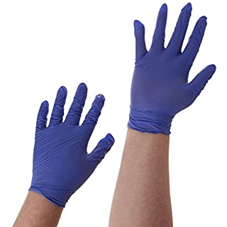 Ansell Microtouch AJ700104 NITRILE GLOVES LGE (Pack of 100)