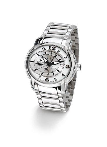 Philip Watch - R8253150015 - Montre Mixte - Quartz Analogique - Bracelet en Acier