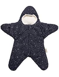 Baby Bites ORIGINAL - Saco estrella AZUL MARINO, estampado CONSTELACIONES - Modelo INVIERNO