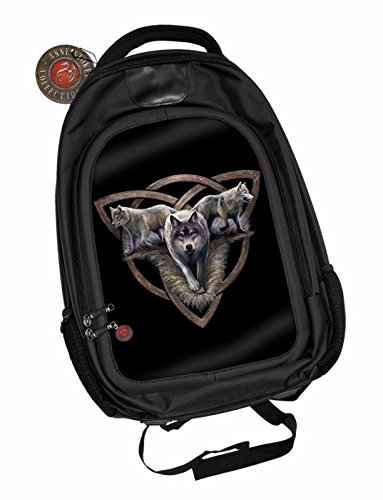 Anne-Stokes-Official-3D-Unisex-Backpack-Wolf-Trio-Goth-School-Padded-Laptop