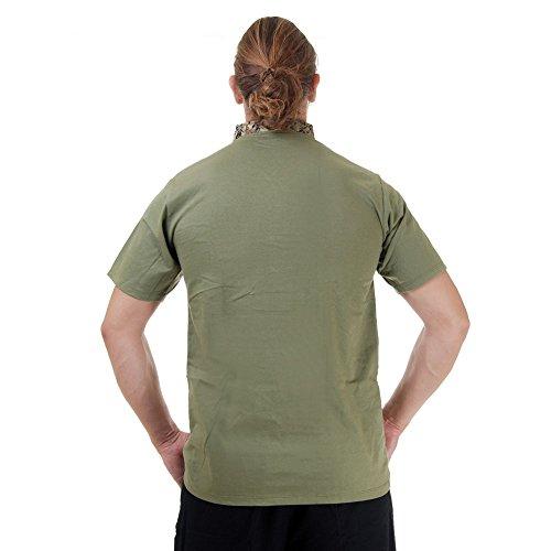 Kung-Fu,Tai-Chi & Meditations T-Shirt Baumwolle & Seide Grün M L XL Grün