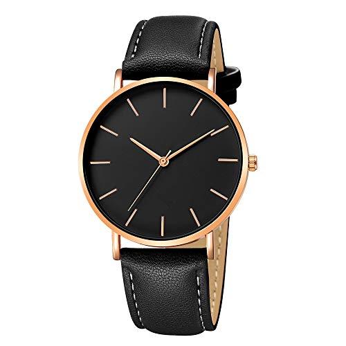 2019 Urh Herren Hohe Qualität Men\'s Sports Quartz Watches Geneva Fashion Men Date Alloy Case Synthetic Leather Analog Quartz Sport Watch Mode zu sehen