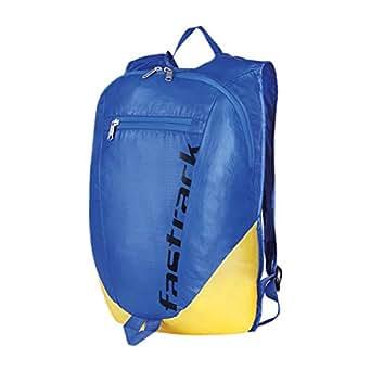 Fastrack Nylon Foldable Men's Backpack (Blue)