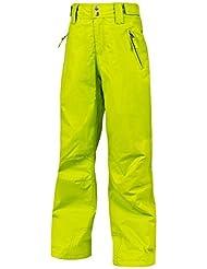 Protest–Pantalones de esquí invierno Pantalones Pantalones para la nieve Hopkins verde secado rápido, color verde, tamaño 12 años (152 cm)