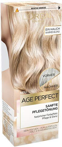 Loreal Age Perfect Sanfte Pflegetönung warmes Blond 80 ml