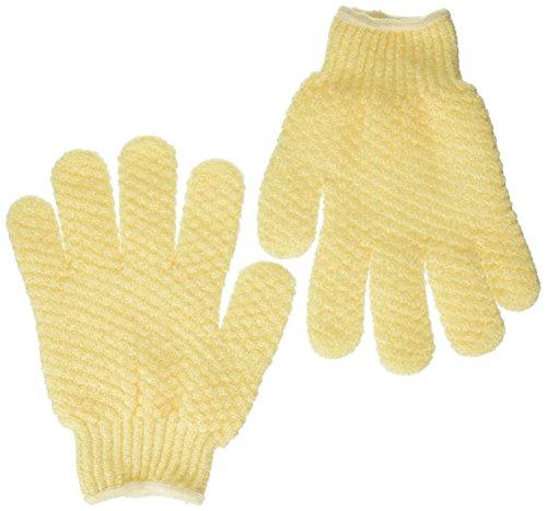 Earth Therapeutics Exofoliating Handschuhe Natürlich - Paar