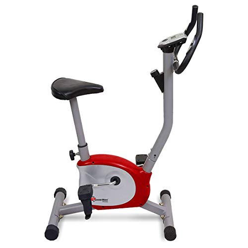 Powermax Fitness BU-200 Upright Bike/Exercise Bike for Home Gym