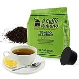 48 Kapseln Kompatibel mit Dolce Gusto - Te Nero al Limone - Il Caffè Italiano