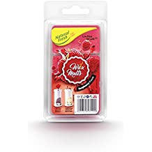 NATURAL FRESH C-WM075-RP Wax Melts Wax, Raspberry Punch, 7.5 x 13.7 x 2.5 cm