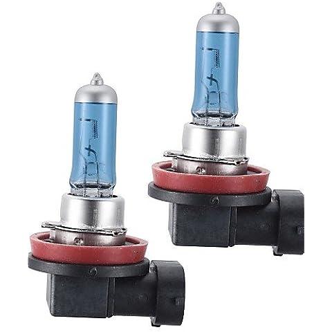 RFF-h11 100w eccellente bianco Xenon HID lampadina faro alogeno per auto (12V DC / coppia)-MEIXI&
