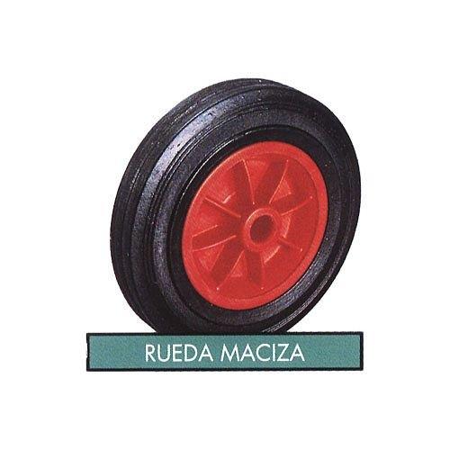 Theca M262238 - Rueda maciza carretilla de obra, 350x80mm