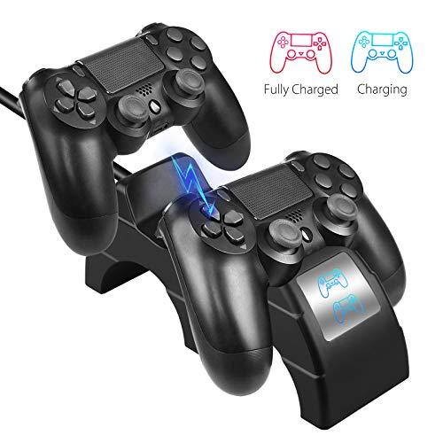 EEEKit Dual USB Dual Shock 4 Controller Ladestation Ladestation für Sony Playstation4 / PS4 / PS4 Slim / PS4 Pro Controller - Verkaufen Zu 4 Playstation