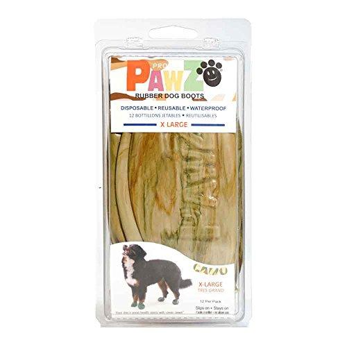 a4b5ba5287 Pawz Dog Boots PZCMXL Up To 5