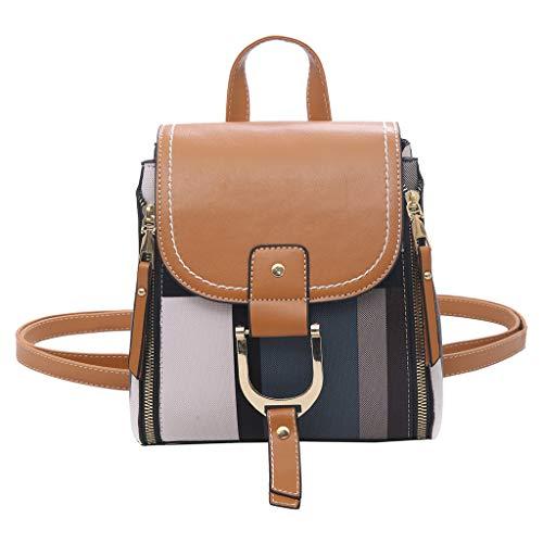 Mitlfuny handbemalte Ledertasche, Schultertasche, Geschenk, Handgefertigte Tasche,Mode Frauen im freien einfarbig Rucksack Reisetasche umhängetasche Knot Wedge Sandal