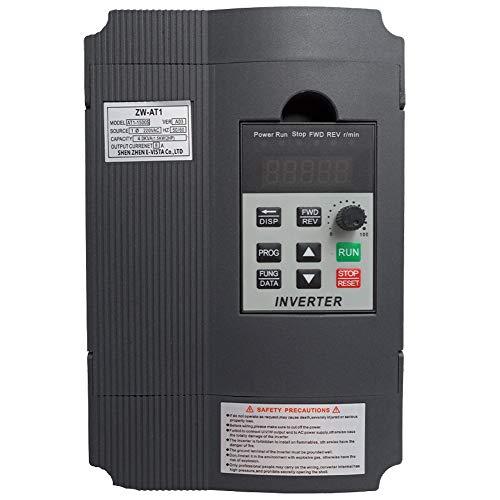 Convertisseur onduleur VFD CoolClassic ZW-AT1 -1,5kW - 3CV - 220V - 8A