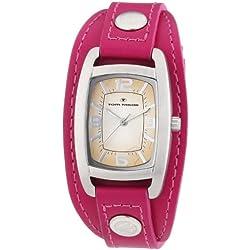 TOM TAILOR Damen-Armbanduhr Analog Quarz Leder 5411904
