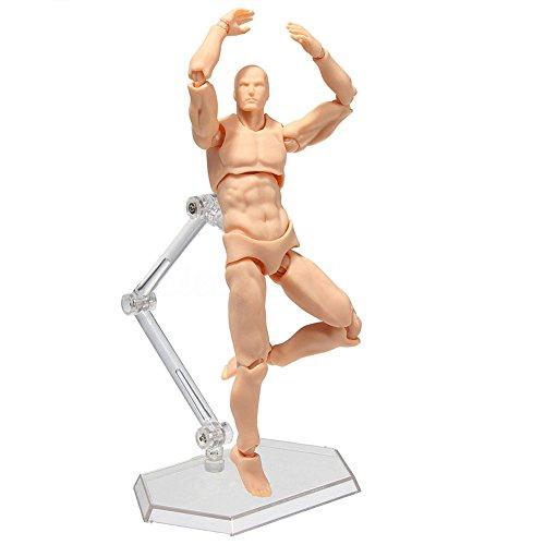 Espeedy Modelo de modelado de pintura ,2.0 Cuerpo Kun Muñeca PVC Body-Chan DX Set Modelo de Acción para SHF Maniquí de Hombre/ Mujer