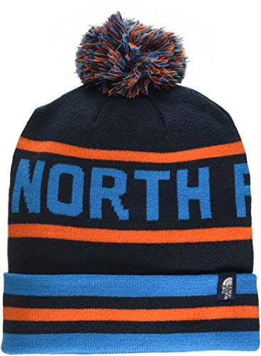 THE NORTH FACE Ski Tuke V Mütze, Urban Navy/Persian Orange Multi, One Size