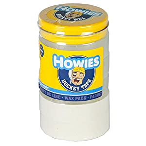 Howies Hockey Tape Wachs Pack Hockey Tape–3transparent/2weiß/1Wachs