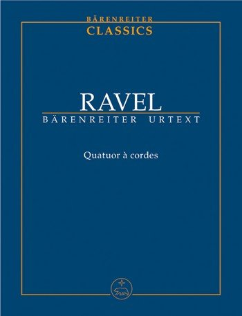 ravel-string-quartet-quatuor-a-cordes-urtext-study-score