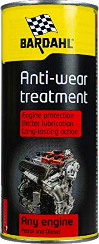 Bardahl Engine Anti-Wear Treatment Trattamento Anti Attrito Anti Usura Per Olio Motore 400 ML Long Lif