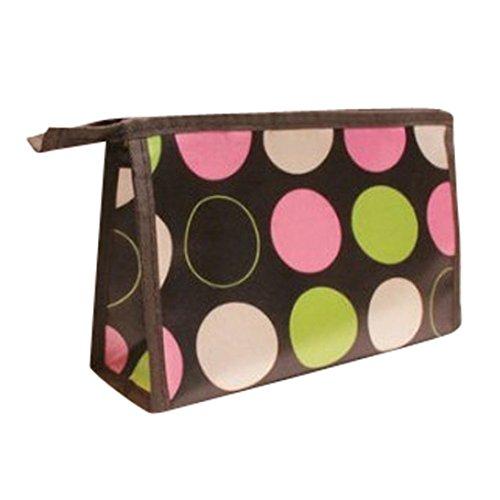kingko® Motif Qualité Supérieure Multi Color Color Multi-Function mignon sac cosmétique / sac de maquillage (B)