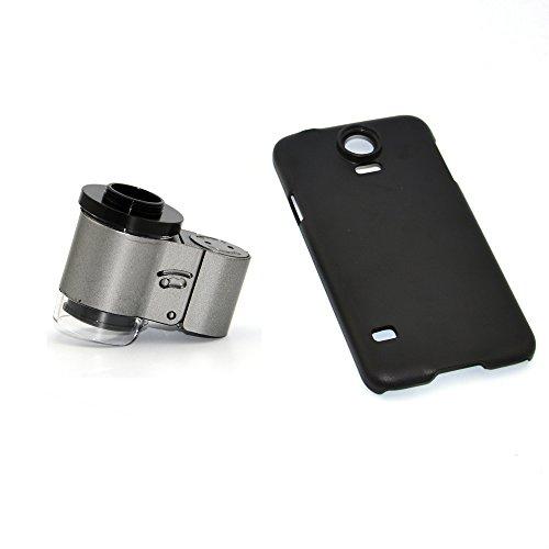 Apexel Mikroskop-Aufsatz für Handys, 50cm Brennweite, Aluminium Für Samsung Galaxy S5 I9600 65X