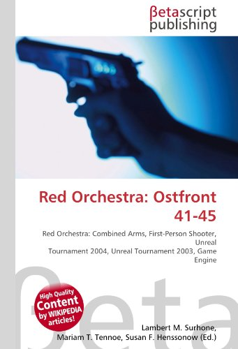 Red Orchestra: Ostfront 41-45: Red Orchestra: Combined Arms, First-Person Shooter, Unreal Tournament 2004, Unreal Tournament 2003, Game Engine