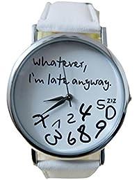 Relojes Mujer Baratos Sunday Reloje Muy Bonito Relojes Mujerde Reloj Relojes  Originales Blanco Negro NiñA Reloj 194c2e7b0874