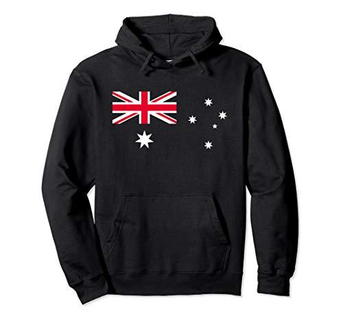 Australien Flagge Cooles Australische Flaggen Damen Herren Pullover Hoodie