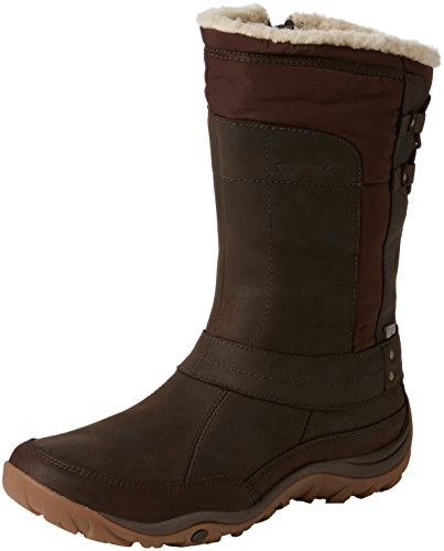 Merrell Women Murren Mid Waterproof Snow Boots, Brown (Bracken), 8 UK 42...