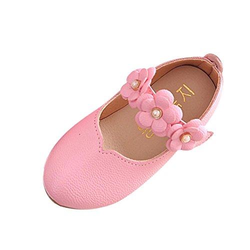 Tefamore Zapatos Bebe Casuales De la Flor del Moda Sólido Todo el Par