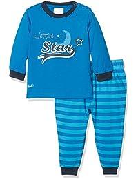 Twins Baby-Jungen langärmliger Schlafanzug, 2-teilig