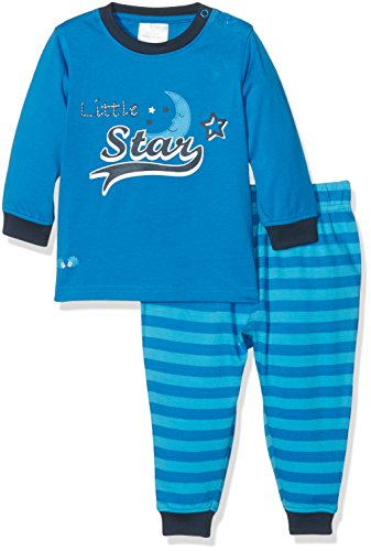 Twins Baby-Jungen Zweiteiliger Schlafanzug Little Star, Mehrfarbig (Mehrfarbig 3200), 80